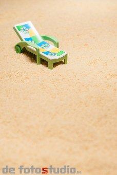 Op het strand van Couscous was nog slechts één ligzetel vrij